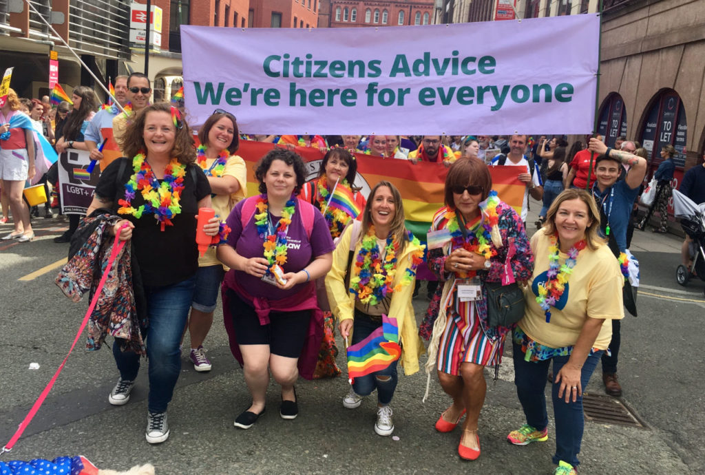 Liverpool Pride 2018 Citizens Advice Halton